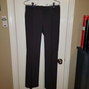 Express Editor Size 4 Pin stripped pants